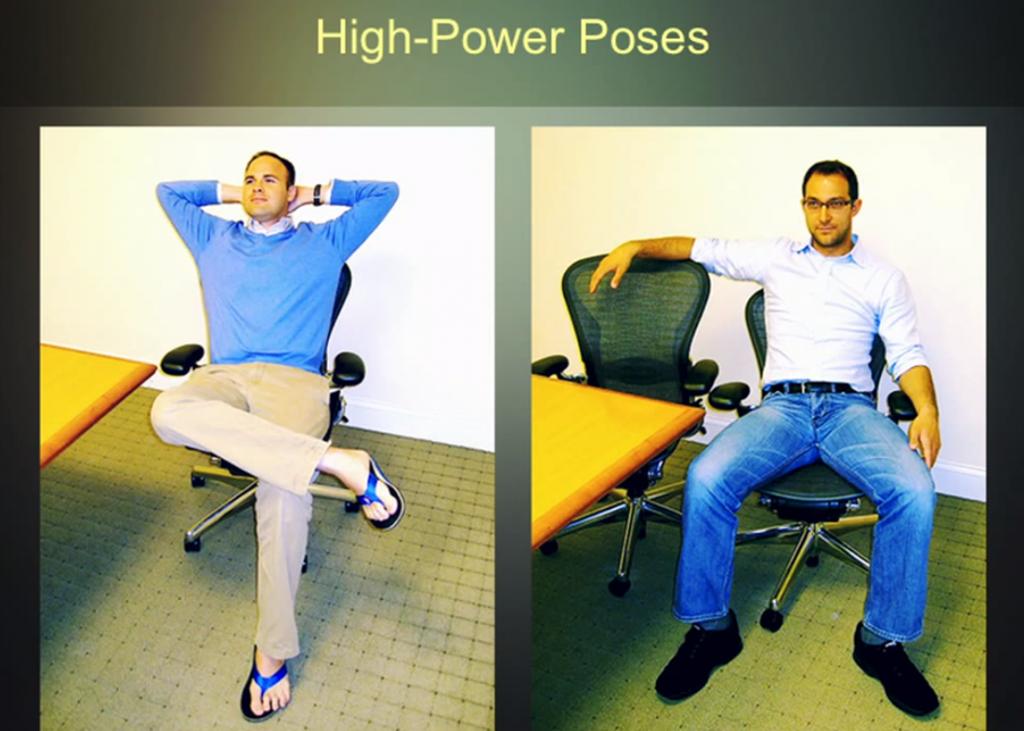 high power pose